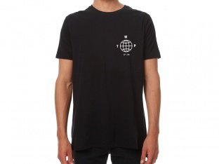 "wethepeople ""Globe"" T-Shirt - Black"