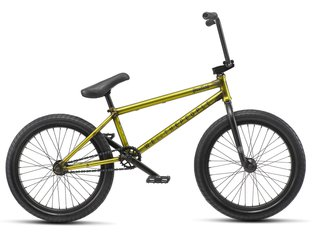 "wethepeople ""Justice"" 2019 BMX Bike - Translucent Yellow"