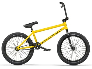 "wethepeople ""Justice"" 2021 BMX Rad - Matt Taxi Cab Yellow"
