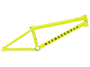 "wethepeople ""Message"" 2019 BMX Rahmen - Metallic Yellow"
