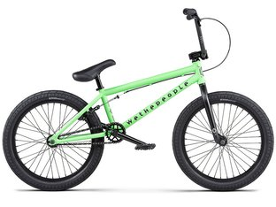 "wethepeople ""Nova"" 2020 BMX Bike - Matt Apple Green (20"" TT)"