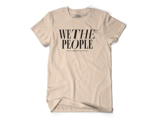 "wethepeople ""Series"" T-Shirt - Sand"