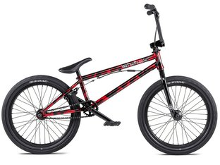 "wethepeople ""Versus FS"" 2020 BMX Rad - Brushed Metallic Red"