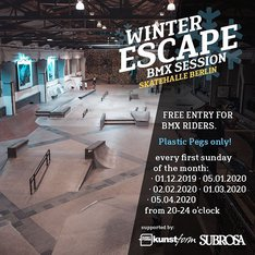 Winter Escape BMX Sessions @ Skatehalle Berlin