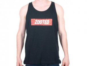"Zoo York ""Zooted Jersey"" Tank Top - Black"