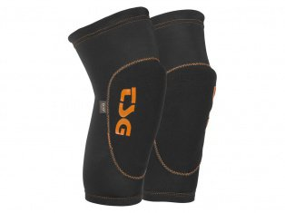 "TSG ""2nd Skin D3O"" Knieschoner - Black/Orange"