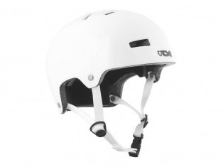 "TSG ""Nipper Maxi Solid Color"" Helm - Gloss White"