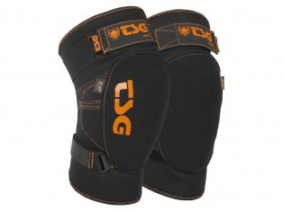 "TSG ""Tahoe D3O"" Knieschoner - Black/Orange"