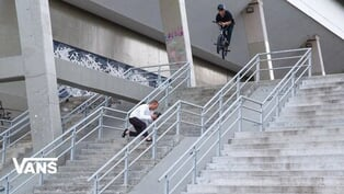 "Dennis Enarson ""Right Here"" VANS BMX Video"