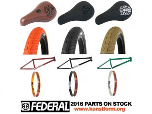 Federal 2016 BMX Parts - now available