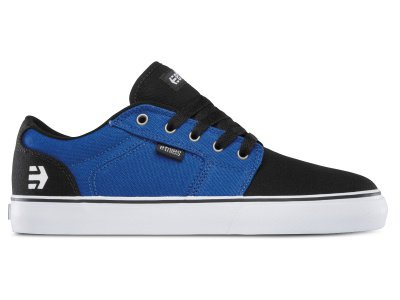 "Etnies ""Barge LS"" Shoes - Black/Blue/White"