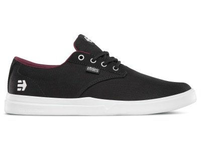 "Etnies ""Jameson SC"" Schuhe - Black/White/Burgundy (Chase Hawk)"