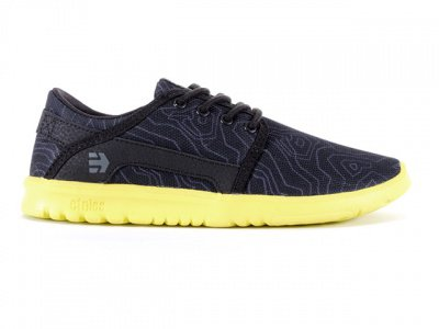 "Etnies ""Scout"" Schuhe - Kids - Black / Yellow"
