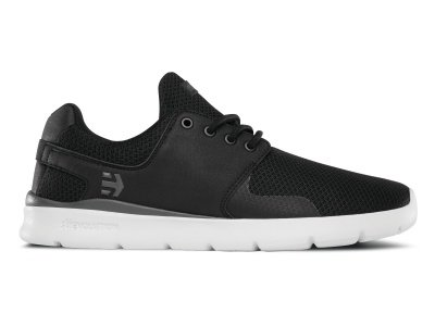 "Etnies ""Scout XT"" Shoes - Black/White/Grey"