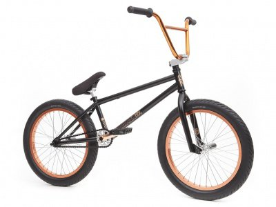 "Fit Bike Co. ""Conway 2"" 2016 BMX Rad - Matte Black / Copper"
