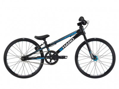 "Haro Bikes ""Race LT Micro Mini"" 2016 BMX Race Rad - Gloss Black"