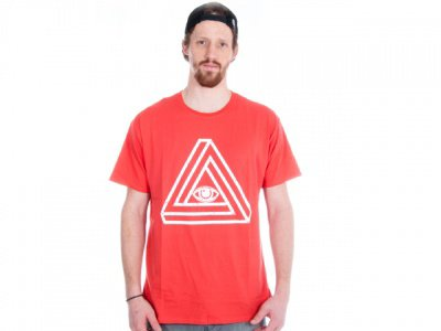 "Proper Bikes ""TTL Eye"" T-Shirt - Red"