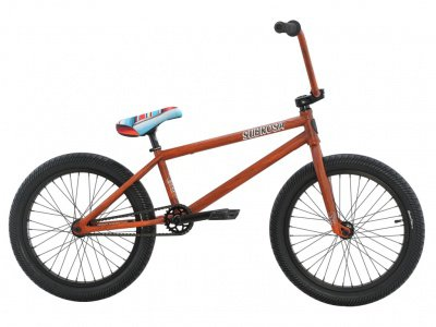 "Subrosa Bikes ""Malum"" 2016 BMX Bike - Rat Rod Rust"