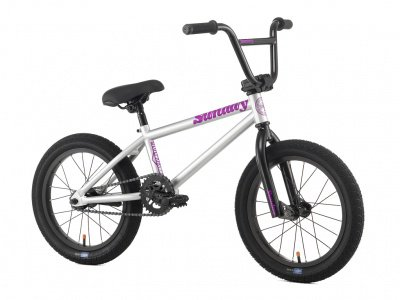 "Sunday Bikes ""Blueprint 16"" 2016 BMX Bike - 16 Inch / Purple"