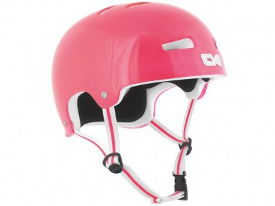 "TSG ""Evolution Special Makeup"" Helm - Metallic Pink"