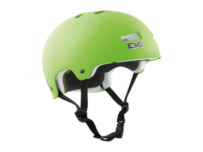"TSG ""Kraken Solid Colors"" Helm - Flat Lime Green"