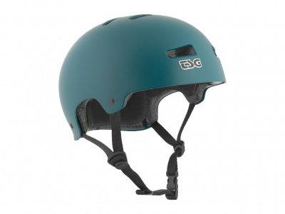 "TSG ""Kraken Solid Colors"" Helm - Satin Dark Teal"