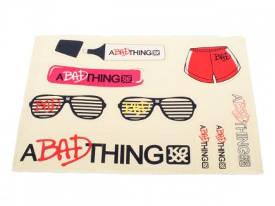 "A Bad Thing ""Bad Sticker"" Sticker Set"