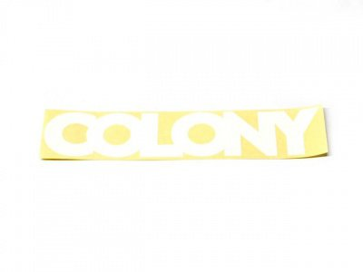 "Colony ""Car Window"" Sticker"