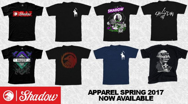 Shadow apparel spring 17 arrived