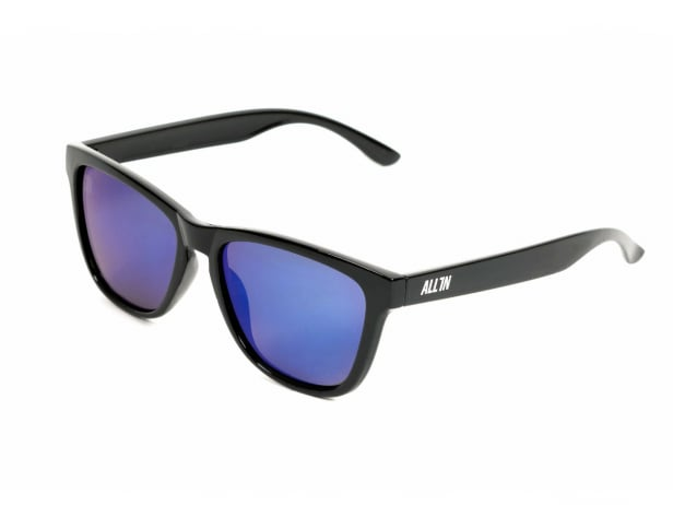 "ALL IN ""Bet"" Sunglasses - Black/Blue"