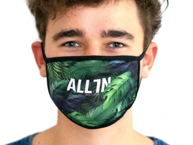 "ALL IN ""Palm"" Face Mask"