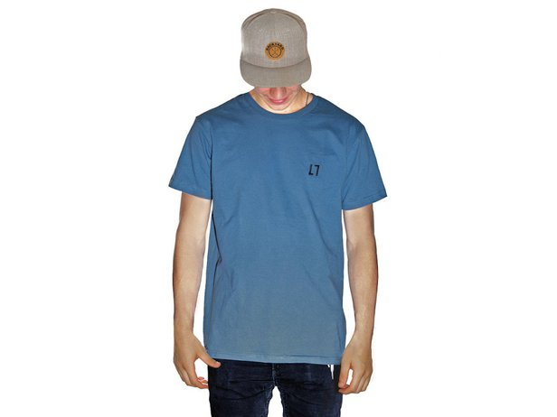 "ALL IN ""Stitch"" T-Shirt - Stone Blue"