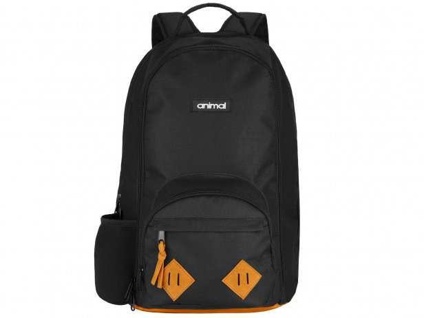 "Animal Bikes ""Loud"" Rucksack - Black/Brown"