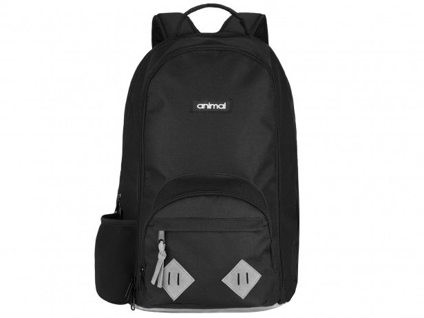 "Animal Bikes ""Loud"" Backpack - Black/Grey"