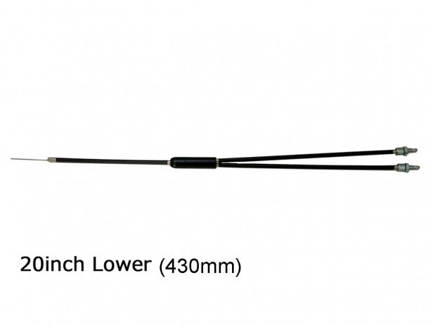 Ares Bikes Lower Gyro Cable