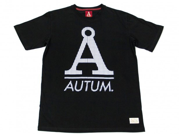 "Autum Bikes ""Sporty A"" T-Shirt - Black"