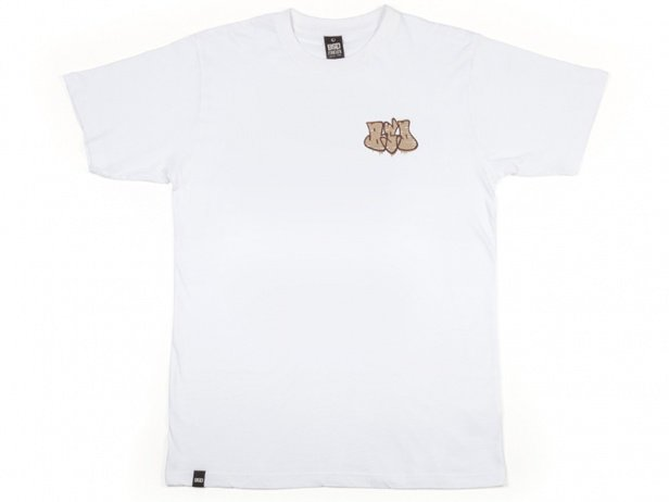 "BSD ""Acid Tag"" T-Shirt - White"