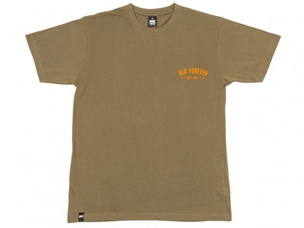 "BSD ""Established"" T-Shirt - Surplus Green"