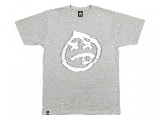 "BSD ""Glitch"" T-Shirt - Heather Grey"