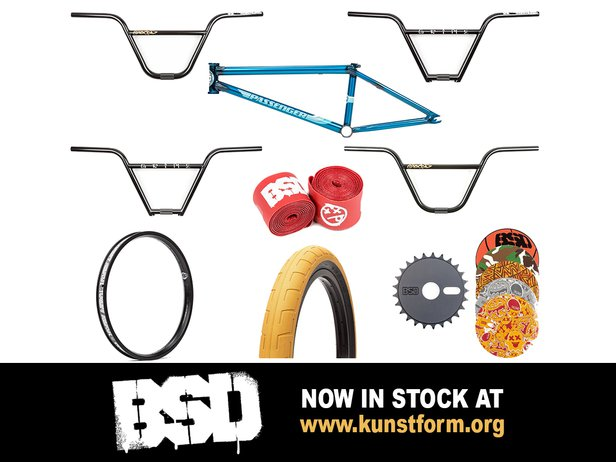 BSD BMX 2018 Parts - In stock!