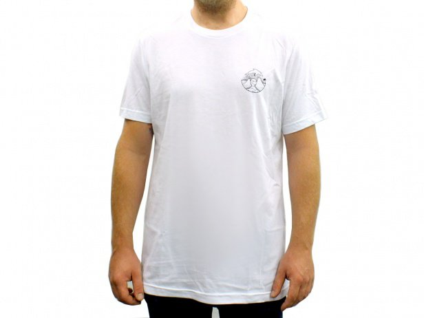 "Barons of Trails ""Deflin"" T-Shirt - White"