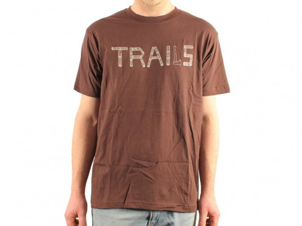 "Barons of Trails ""Trails Wood"" T-Shirt - Brown"