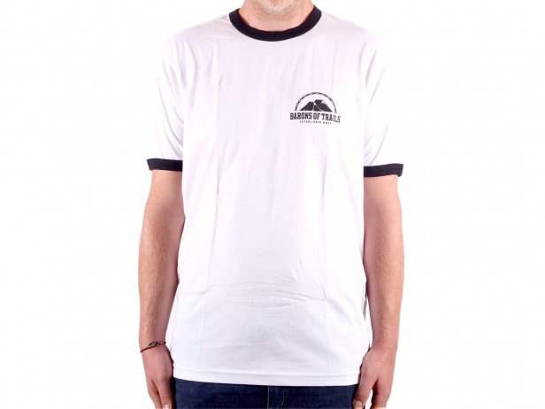 "Barons of Trails ""TrailsTrailsTrails"" T-Shirt - White"