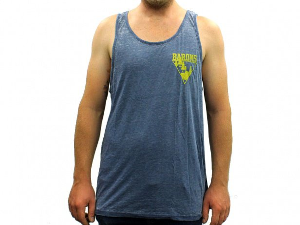 "Barons of Trails ""Woods"" Tank Top - Heather Blue"