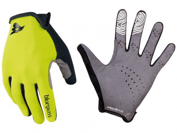 "Bluegrass ""Magnete Lite"" Gloves - Yellow/White"