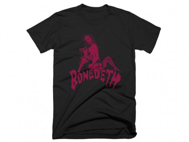 "Bone Deth ""Bone Babes"" T-Shirt - Black"