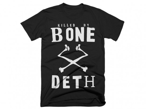 "Bone Deth ""Killed By Bone Deth"" T-Shirt"