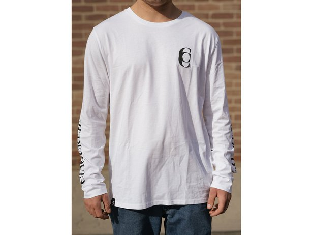 "CIAO ""Mirror"" Longsleeve - White"