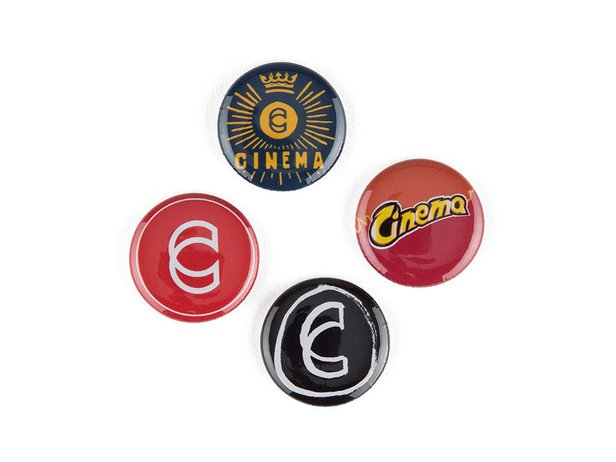 Cinema Wheel Co. Button Set
