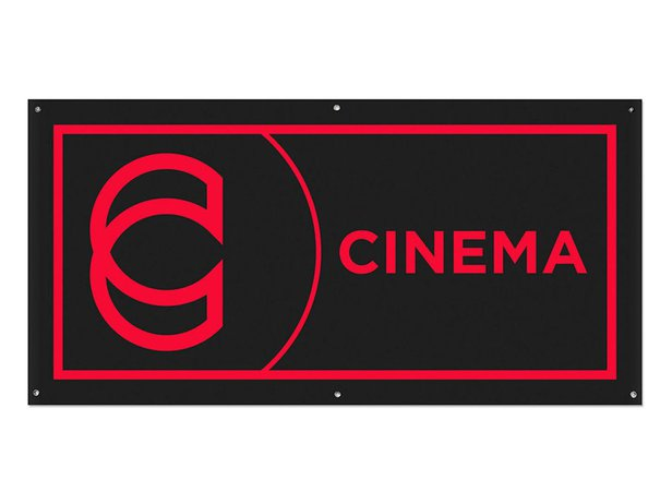 "Cinema Wheel Co. ""Hanging"" Banner"